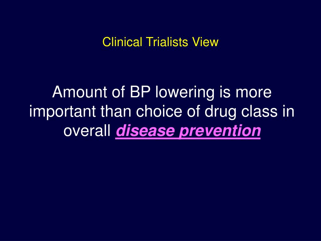 Clinical Trialists View