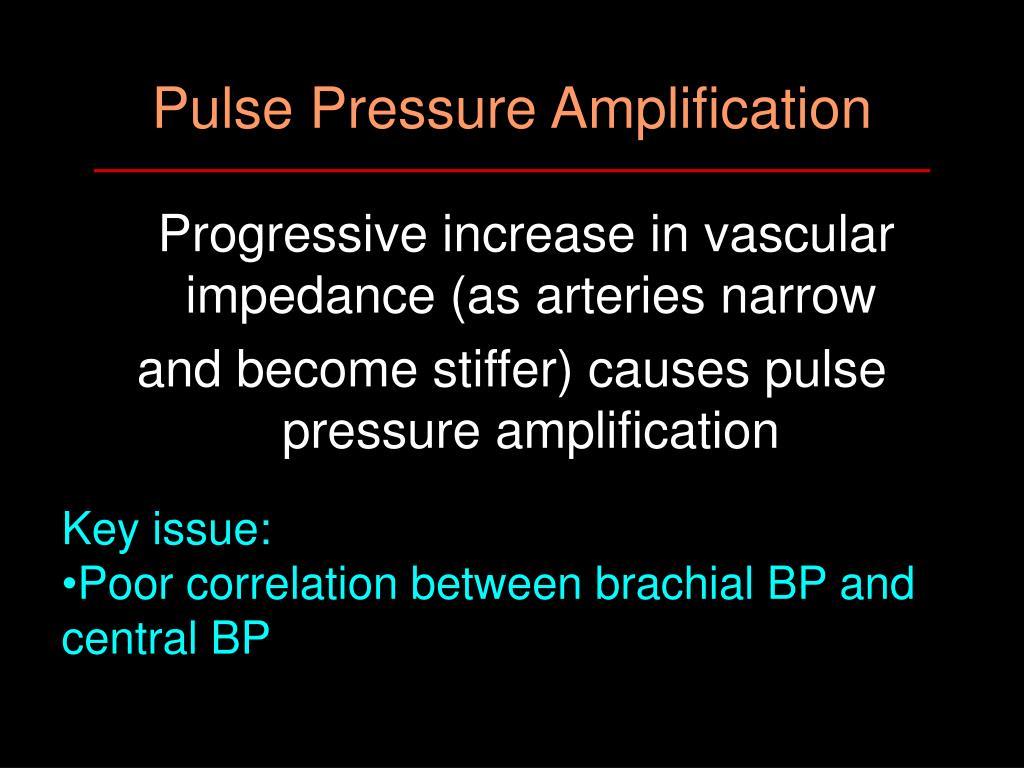 Pulse Pressure Amplification