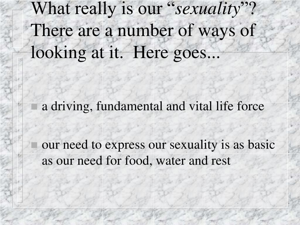 What really is our ""