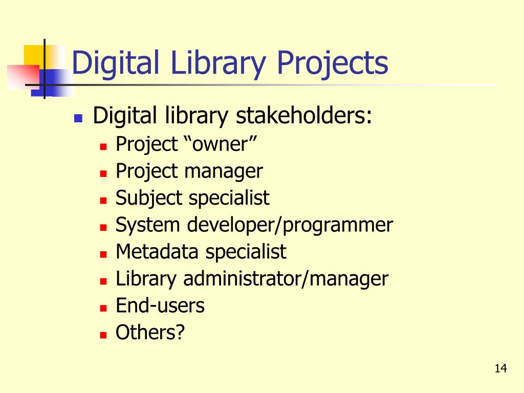 Digital Library Projects