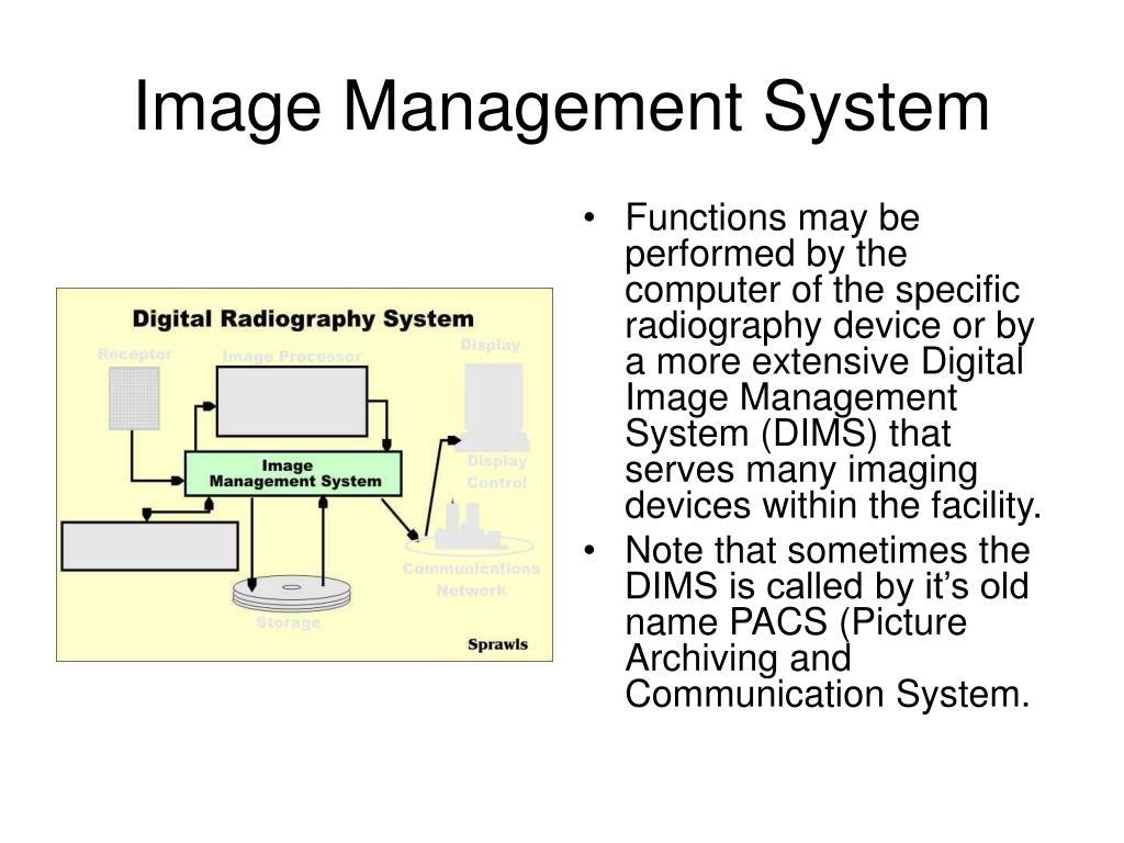 Image Management System