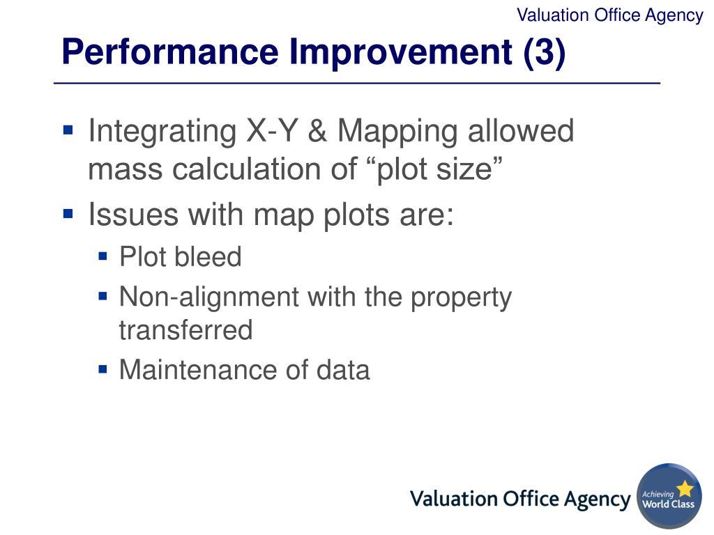Performance Improvement (3)