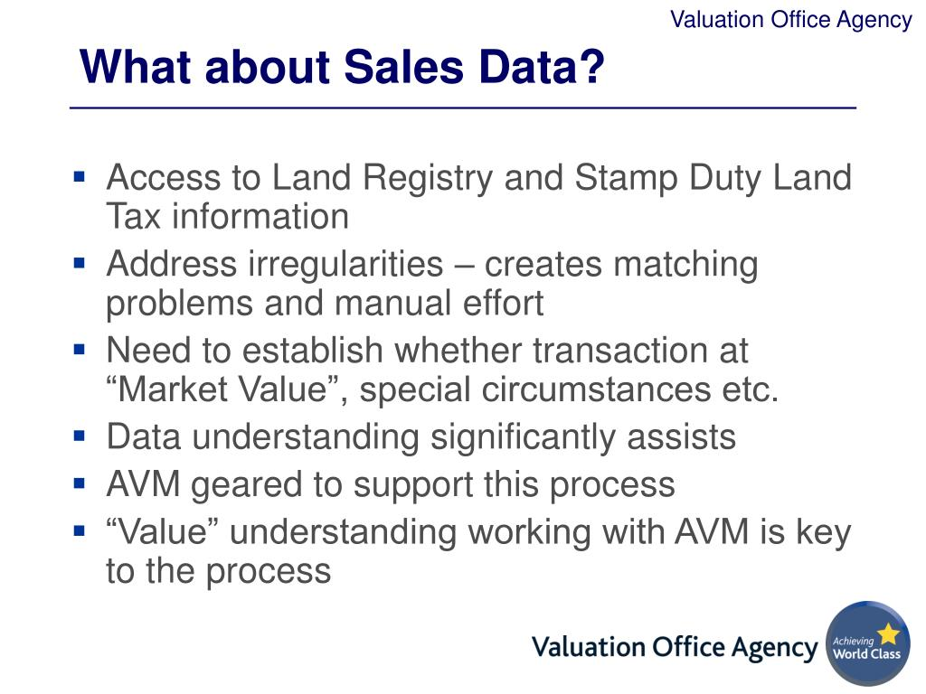 What about Sales Data?