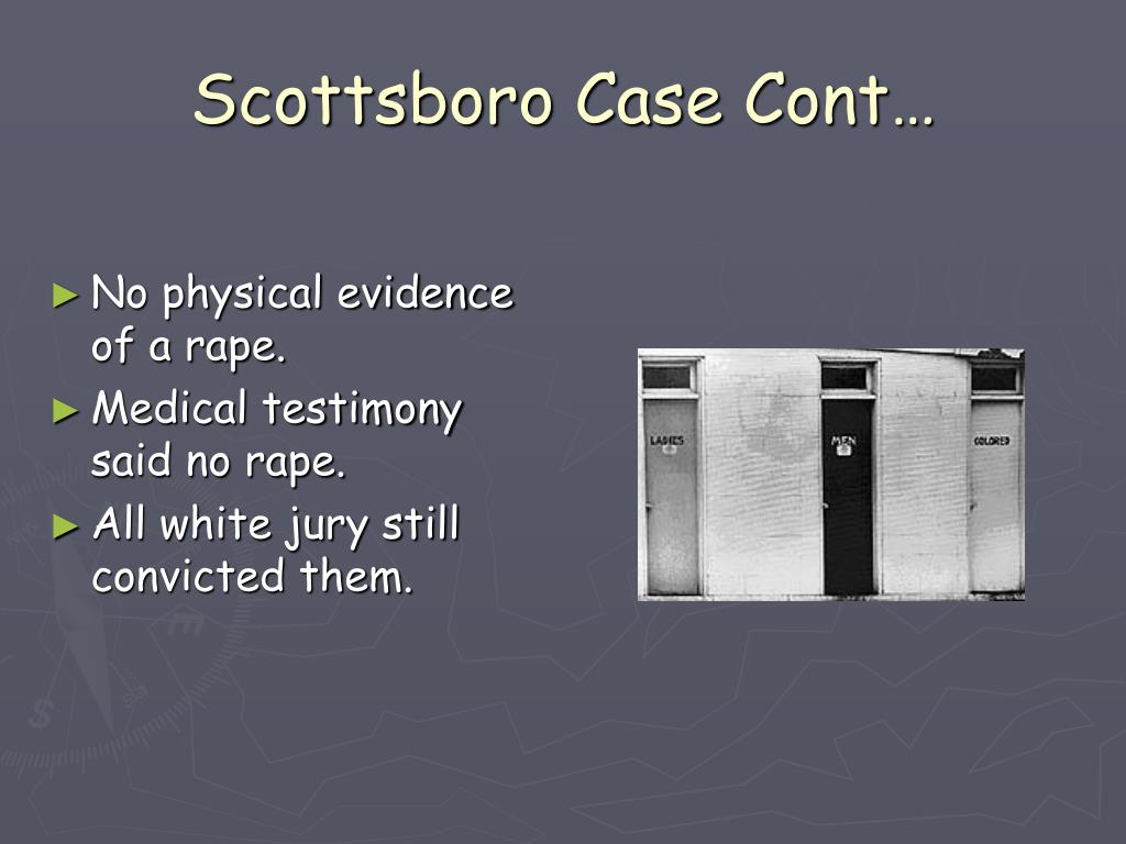 Scottsboro Case Cont…