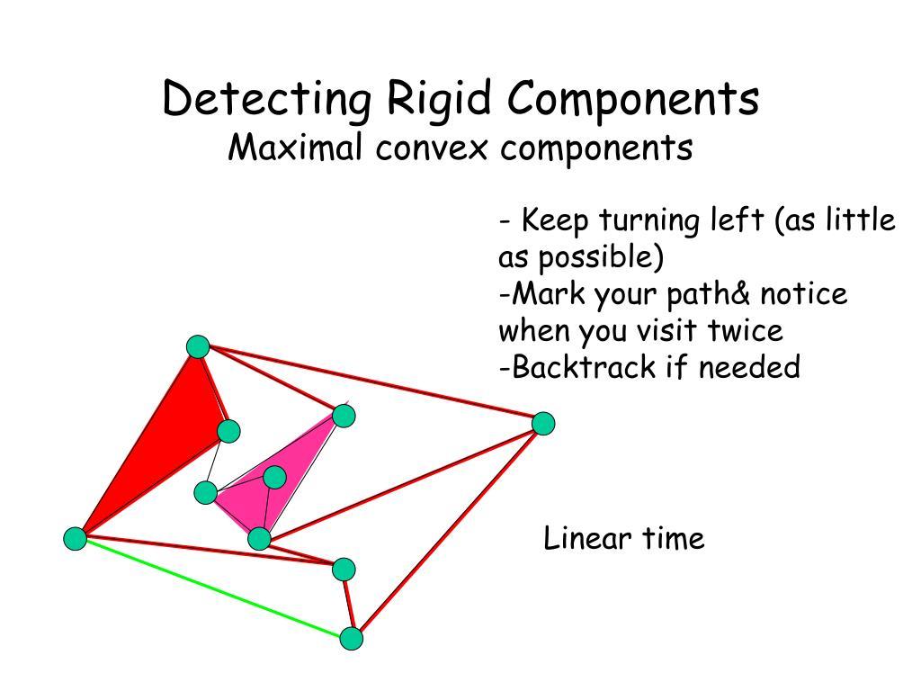 Detecting Rigid Components