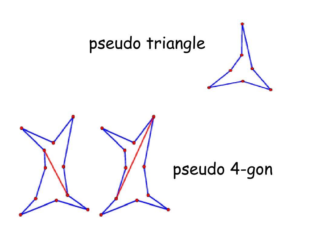 pseudo triangle