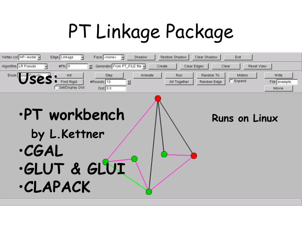 PT Linkage Package
