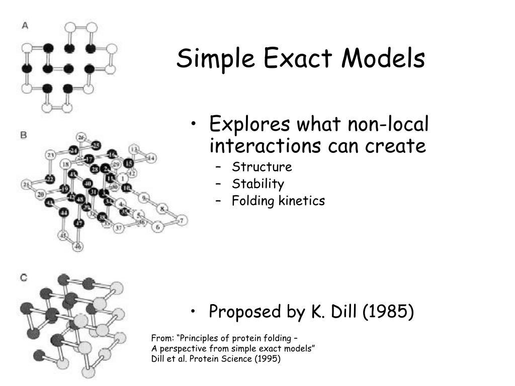 Simple Exact Models