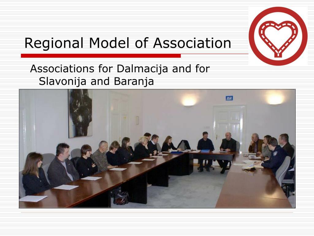 Regional Model of Association