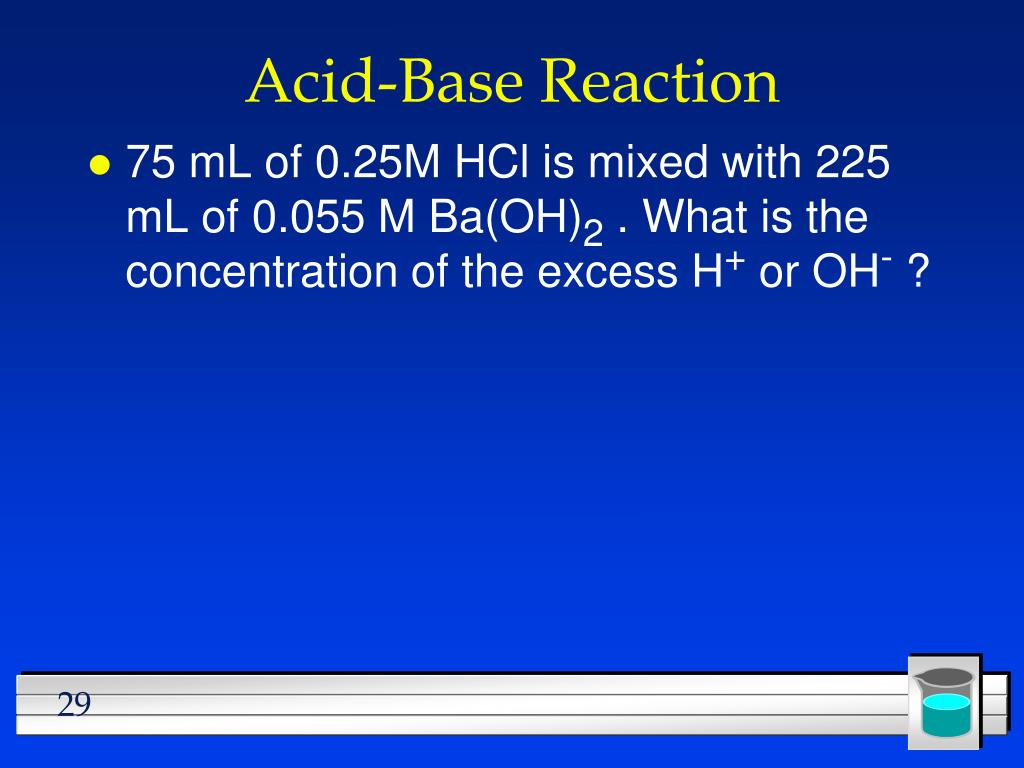 Acid-Base Reaction