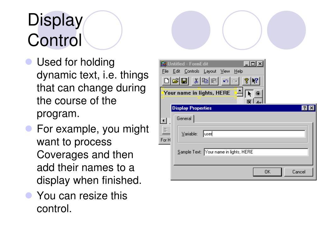 Display Control