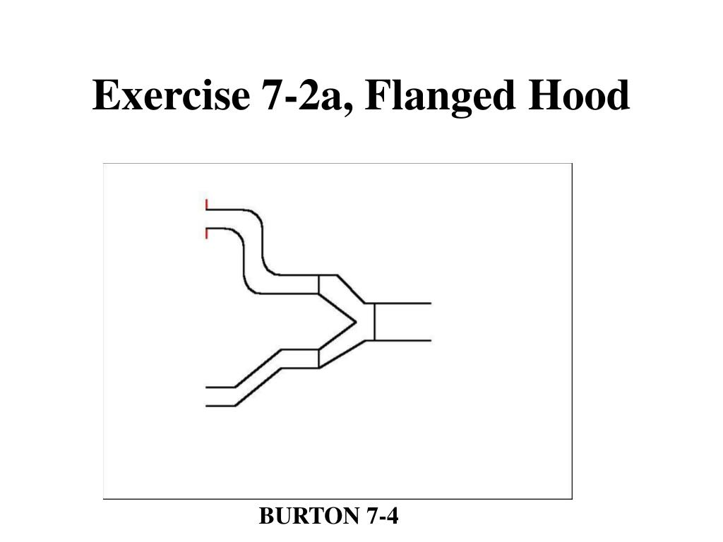 Exercise 7-2a, Flanged Hood