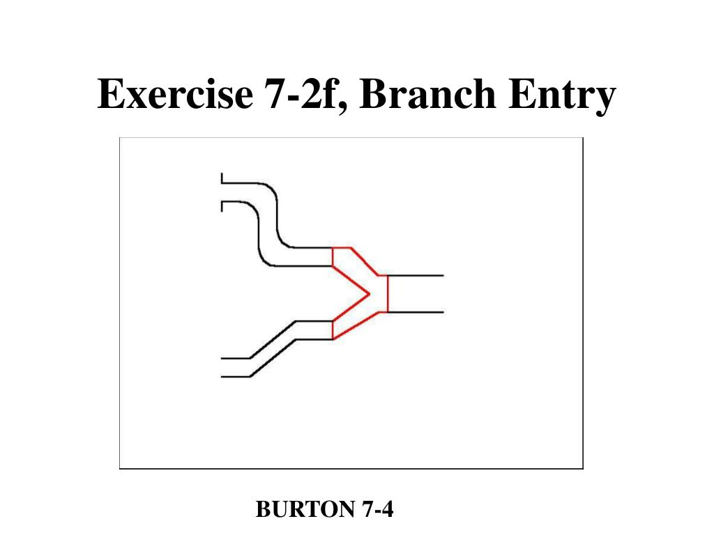 Exercise 7-2f, Branch Entry