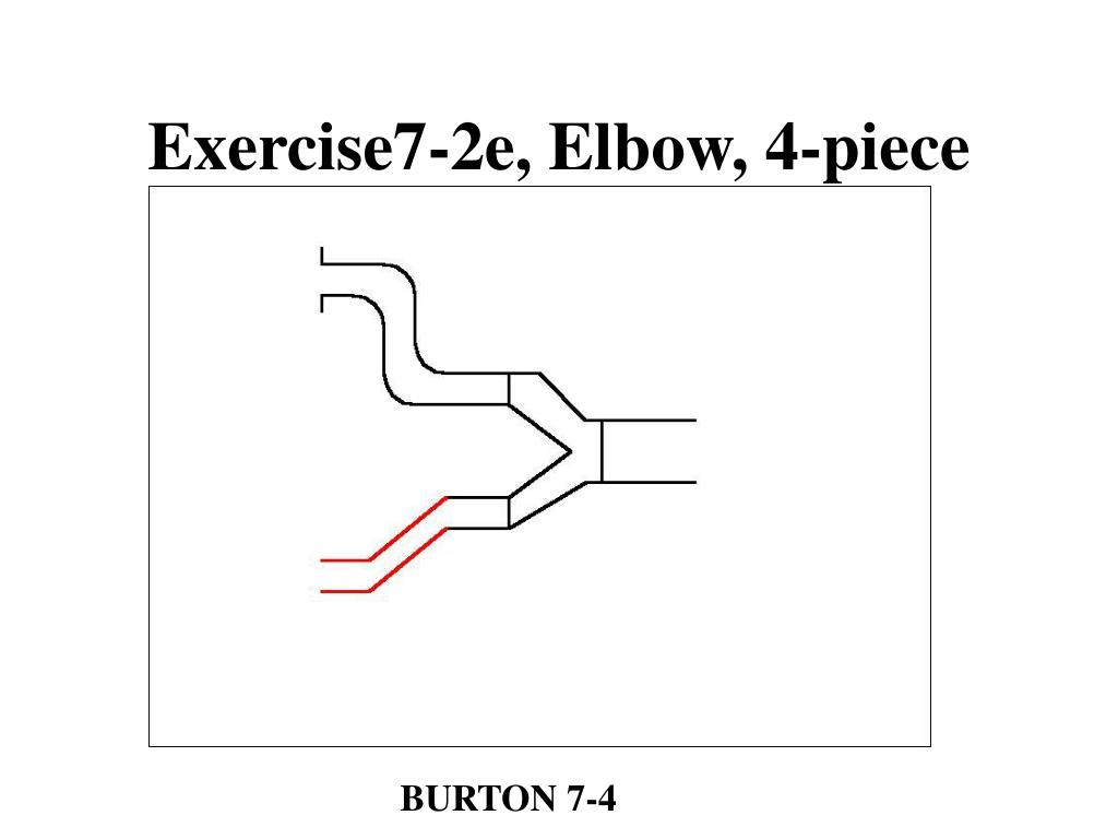Exercise7-2e, Elbow, 4-piece