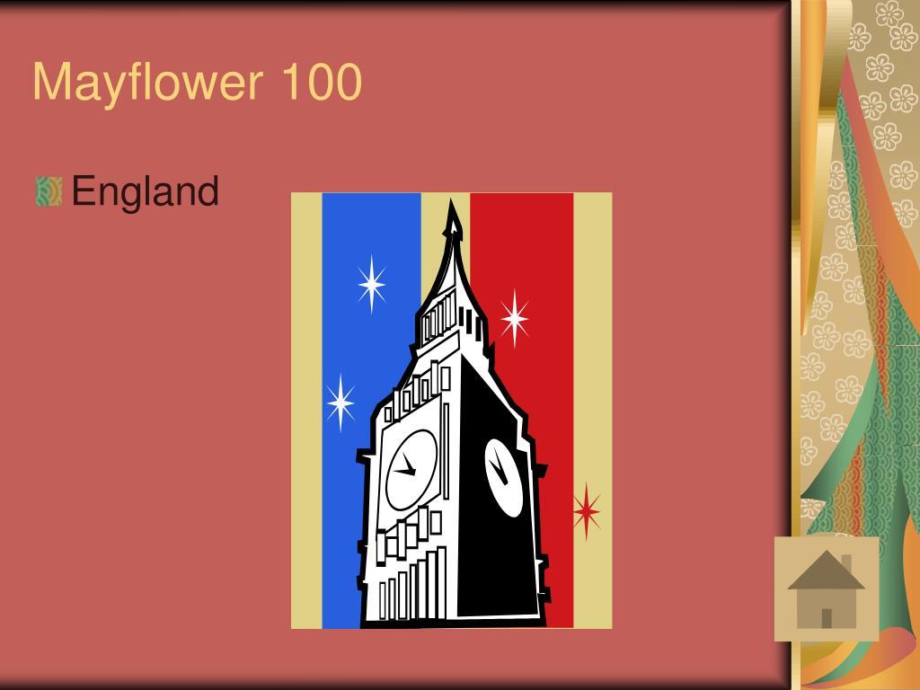 Mayflower 100
