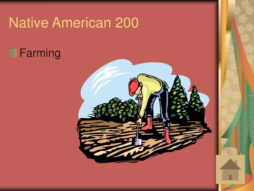 Native American 200