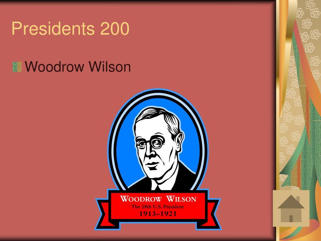 Presidents 200