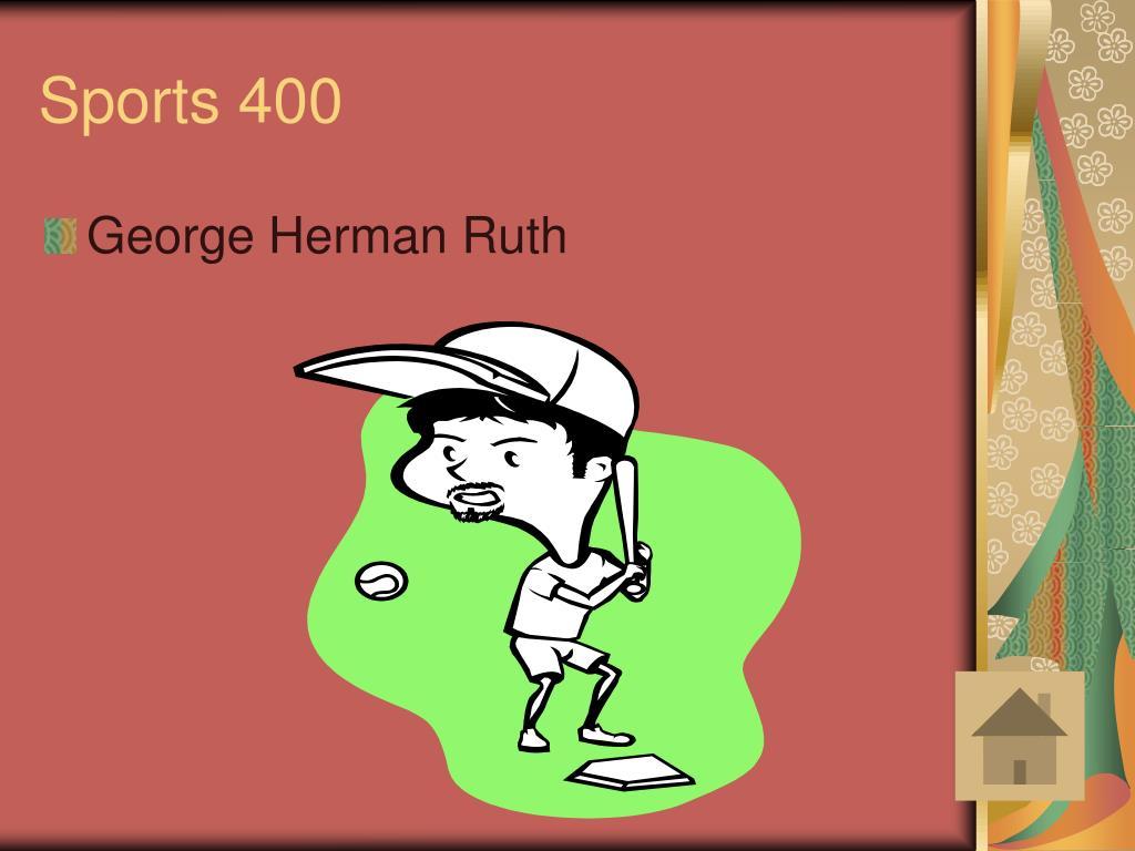Sports 400