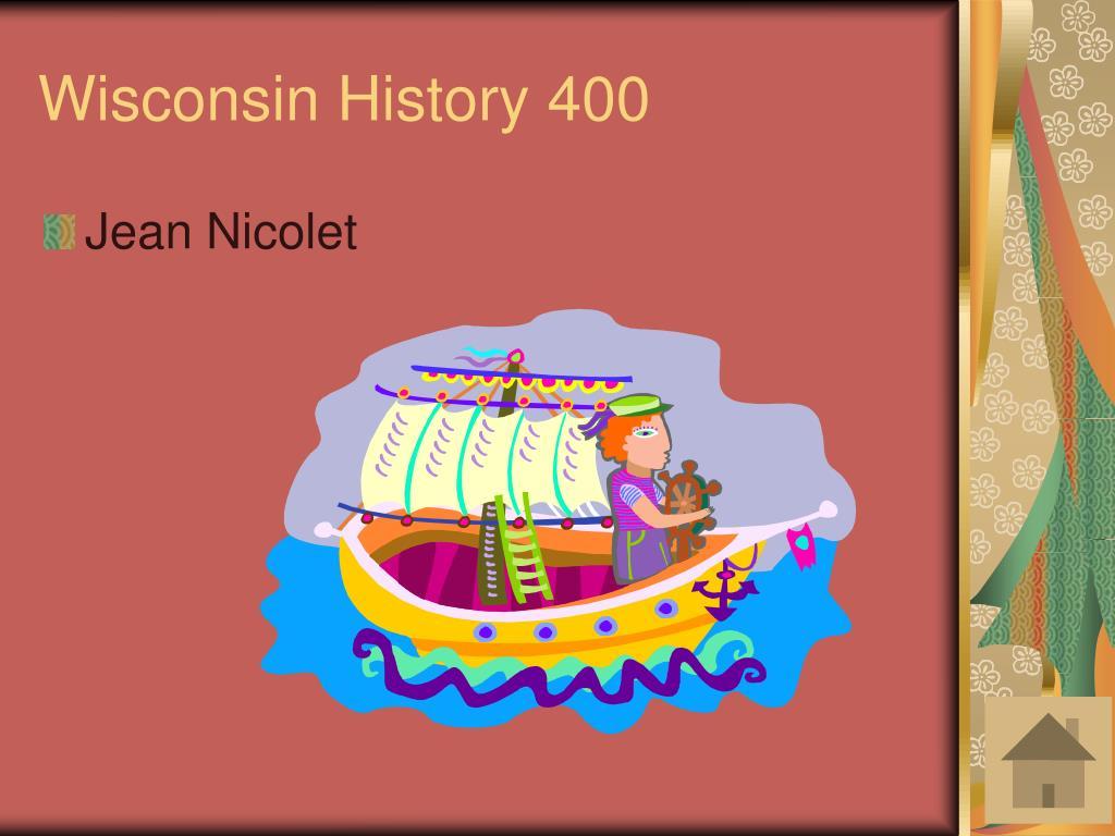 Wisconsin History 400