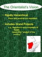 the orientalist s vision