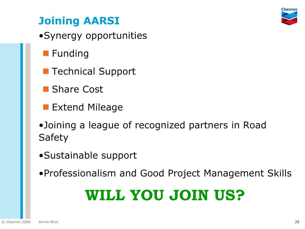 Joining AARSI