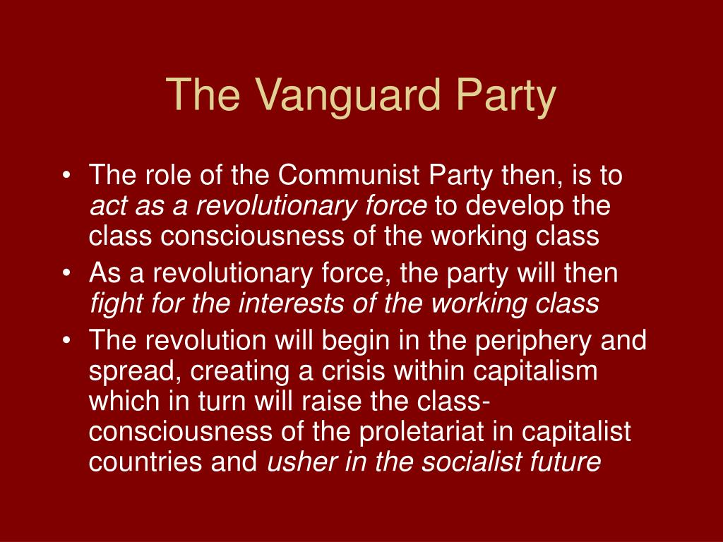 The Vanguard Party