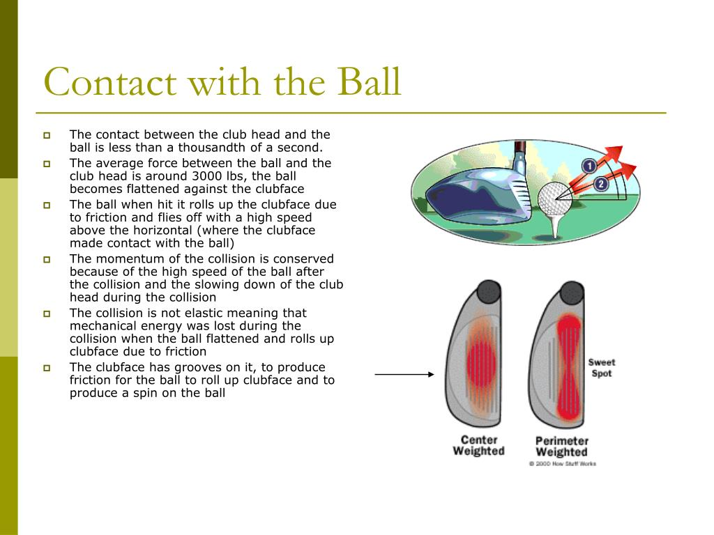 Contact with the Ball