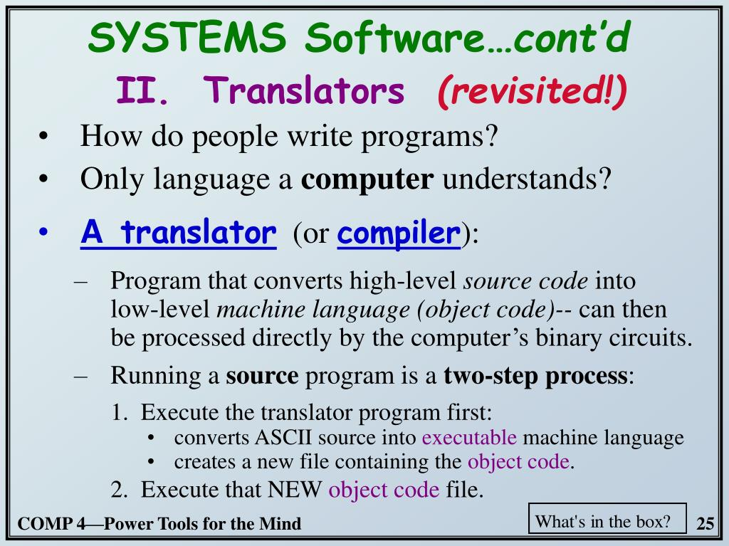 How do people write programs?