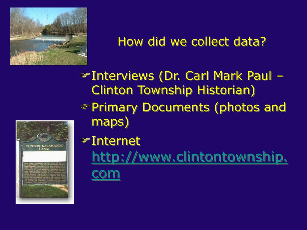 How did we collect data?