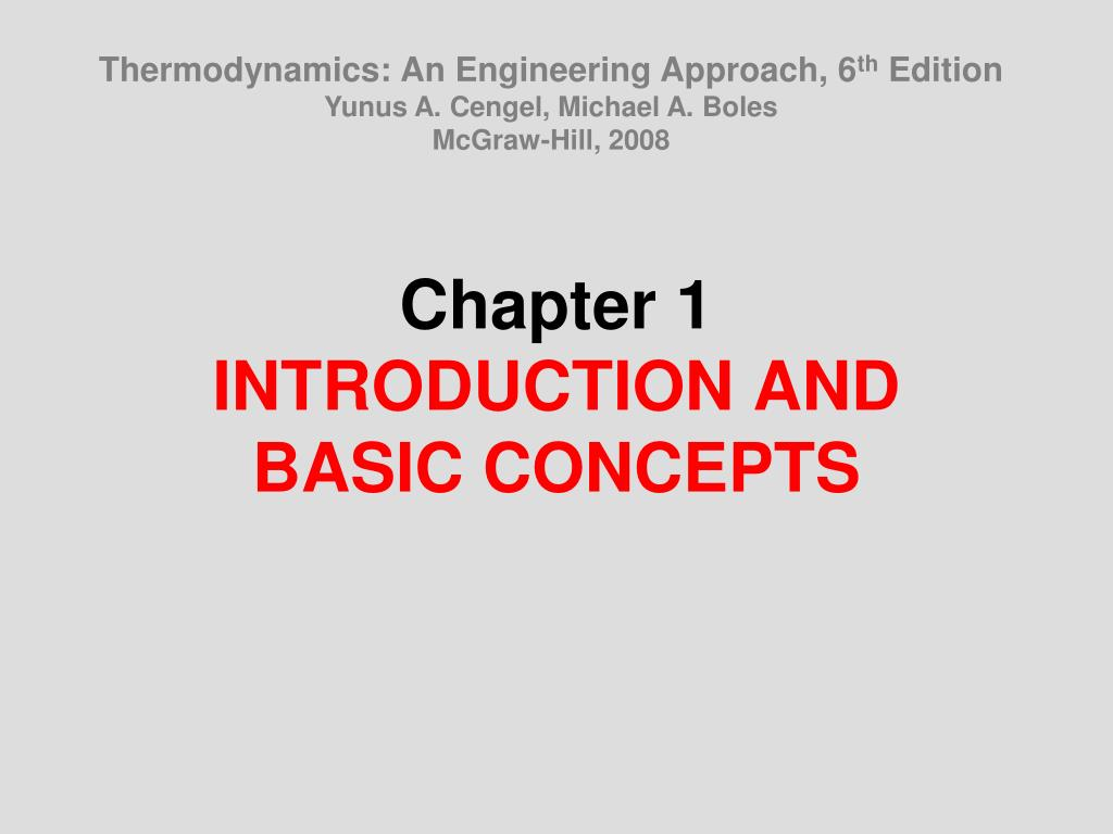 Thermodynamics: An Engineering Approach, 6