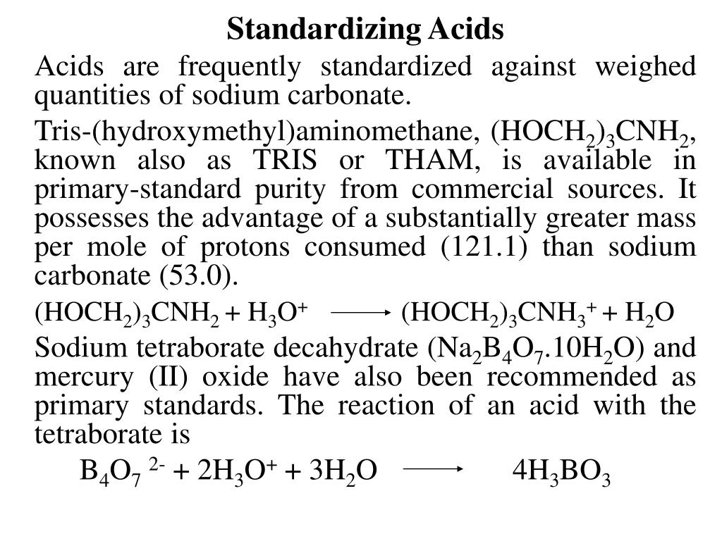 standardizing a solution of potassium hydroxide Potassium hydroxide, 30-50% solution in water revision date 18-jan-2018 precautionary statements prevention wash face, hands and any exposed skin thoroughly after handling.