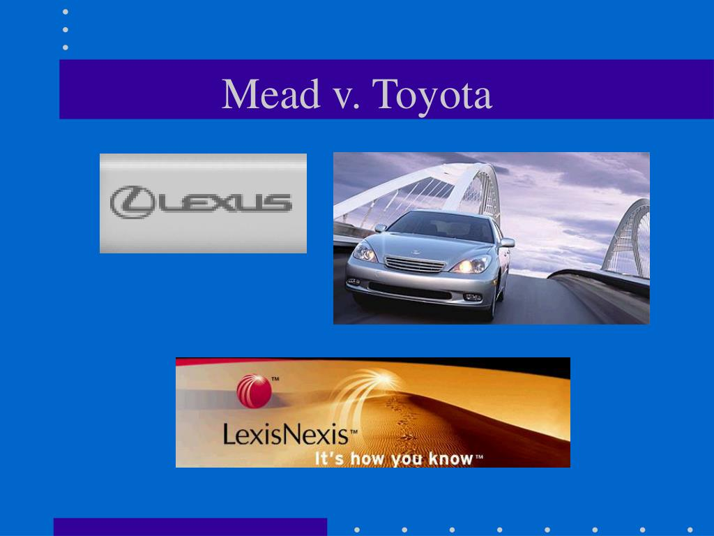 Mead v. Toyota