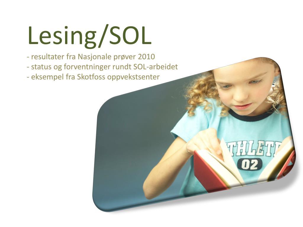 Lesing/SOL