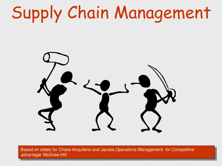 the advantages of supply chain management