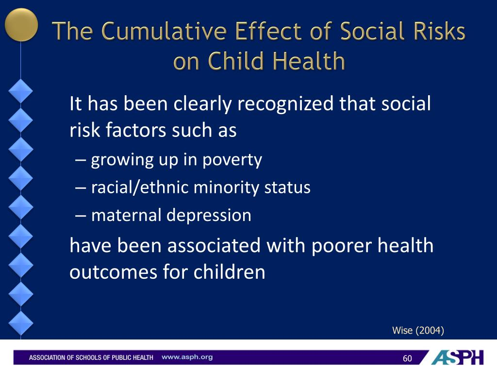 The Cumulative Effect of Social Risks on Child Health