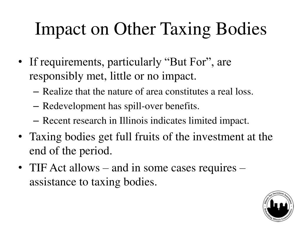 Impact on Other Taxing Bodies