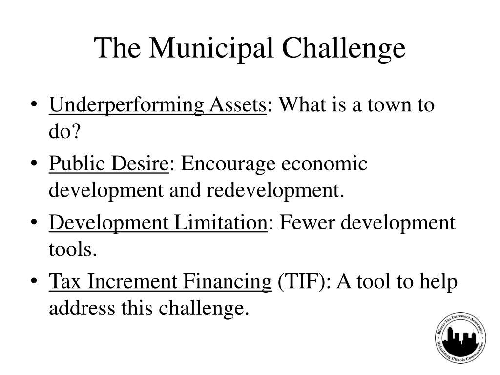 The Municipal Challenge