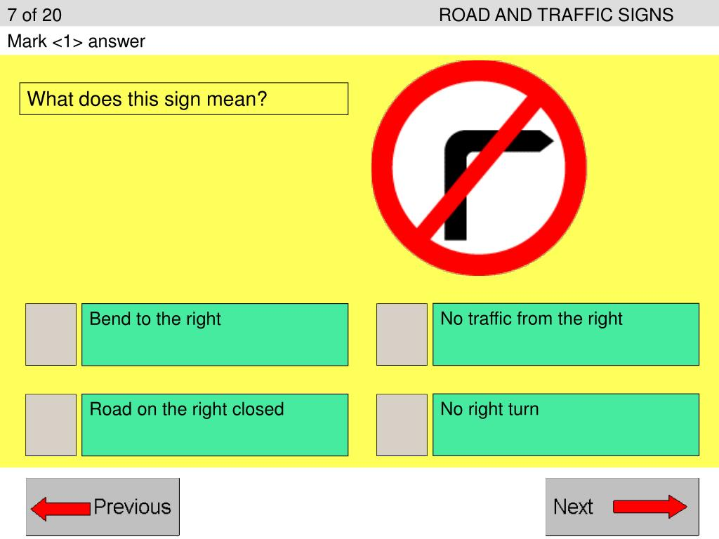 7 of 20ROAD AND TRAFFIC SIGNS