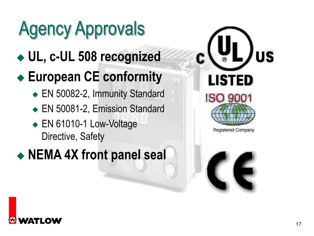 Agency Approvals