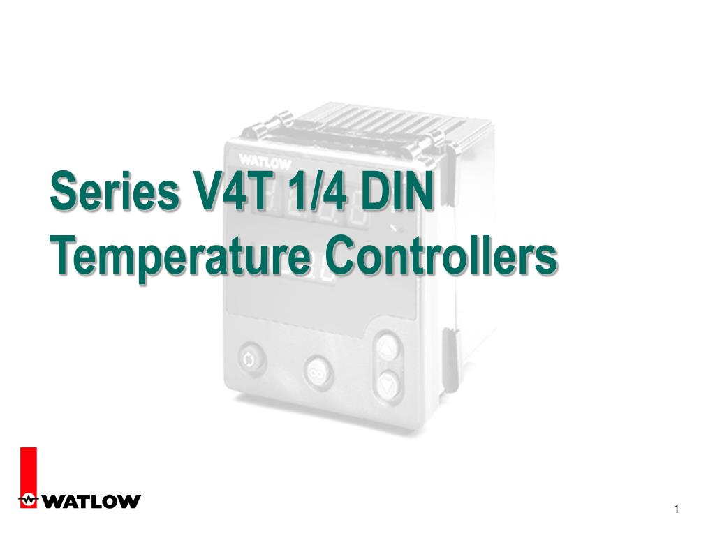 Series V4T 1/4 DIN Temperature Controllers