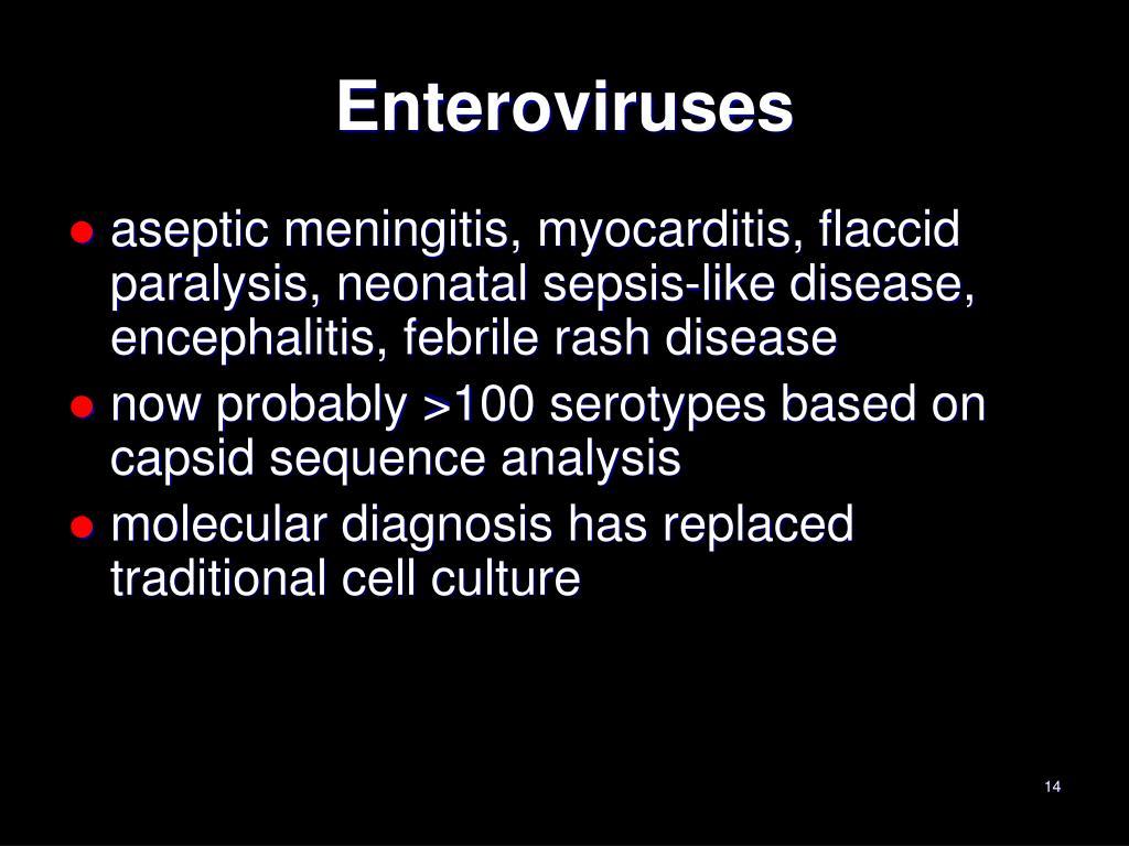 Enteroviruses