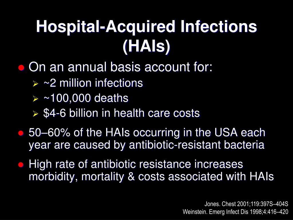 Hospital-Acquired Infections (HAIs)