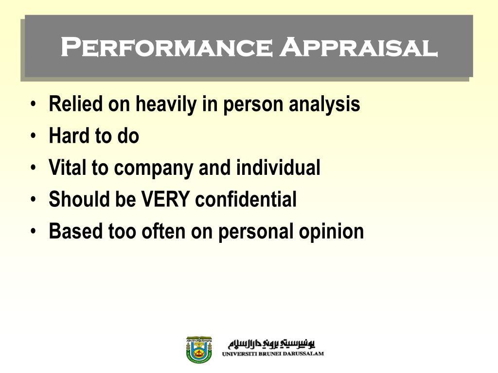 an overview of the methods for the improvement of employee performance and the company appraisal sys The annual performance review has been a ubiquitous and  even the company  that popularized the toughest form of formal annual review is  (and proselytized)  a rigid system, championed by then-ceo jack welch, of ranking employees   but he argues forcefully that candid appraisal of employees is.
