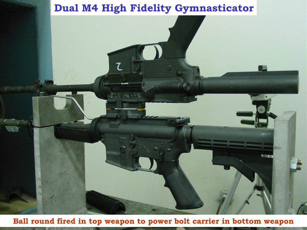 Dual M4 High Fidelity Gymnasticator