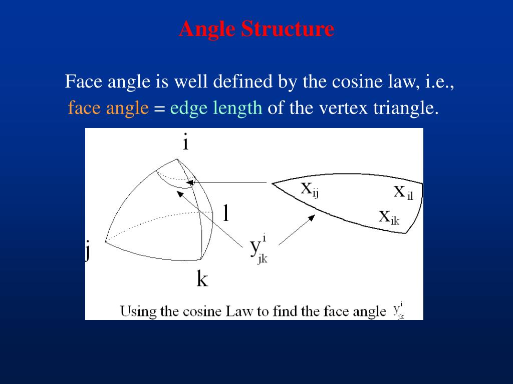 Angle Structure