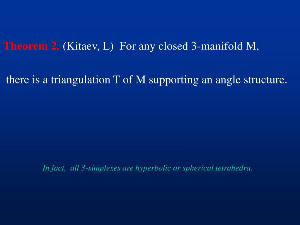 Theorem 2.