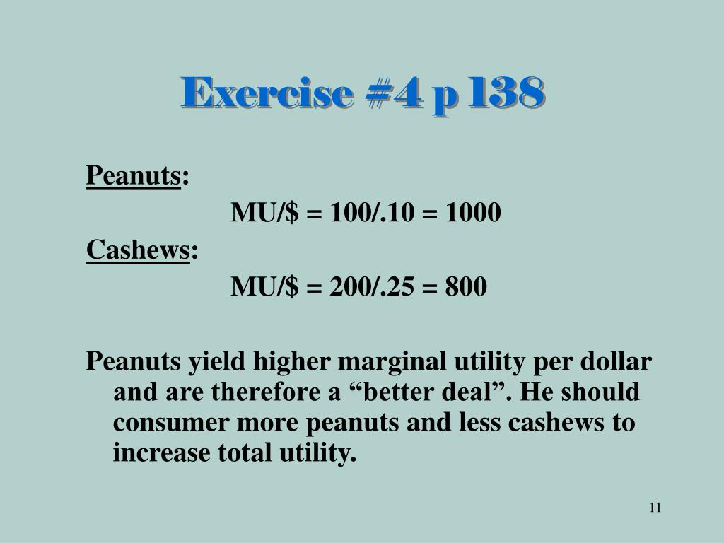 Exercise #4 p 138