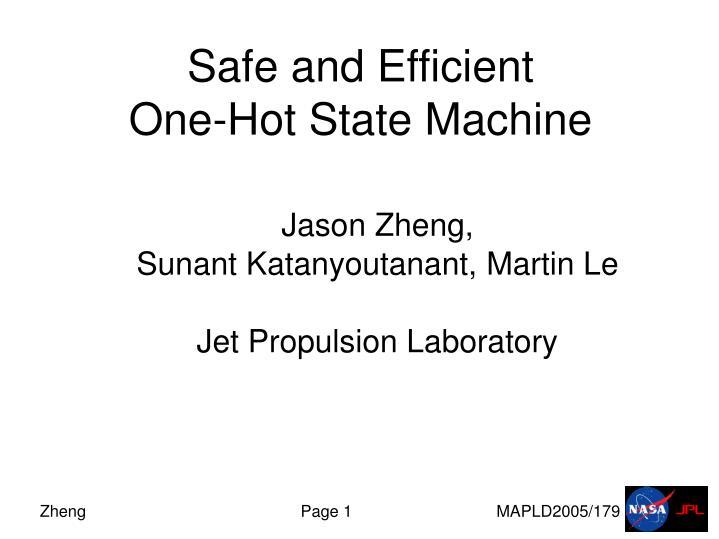 one state machine