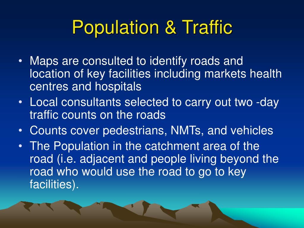 Population & Traffic