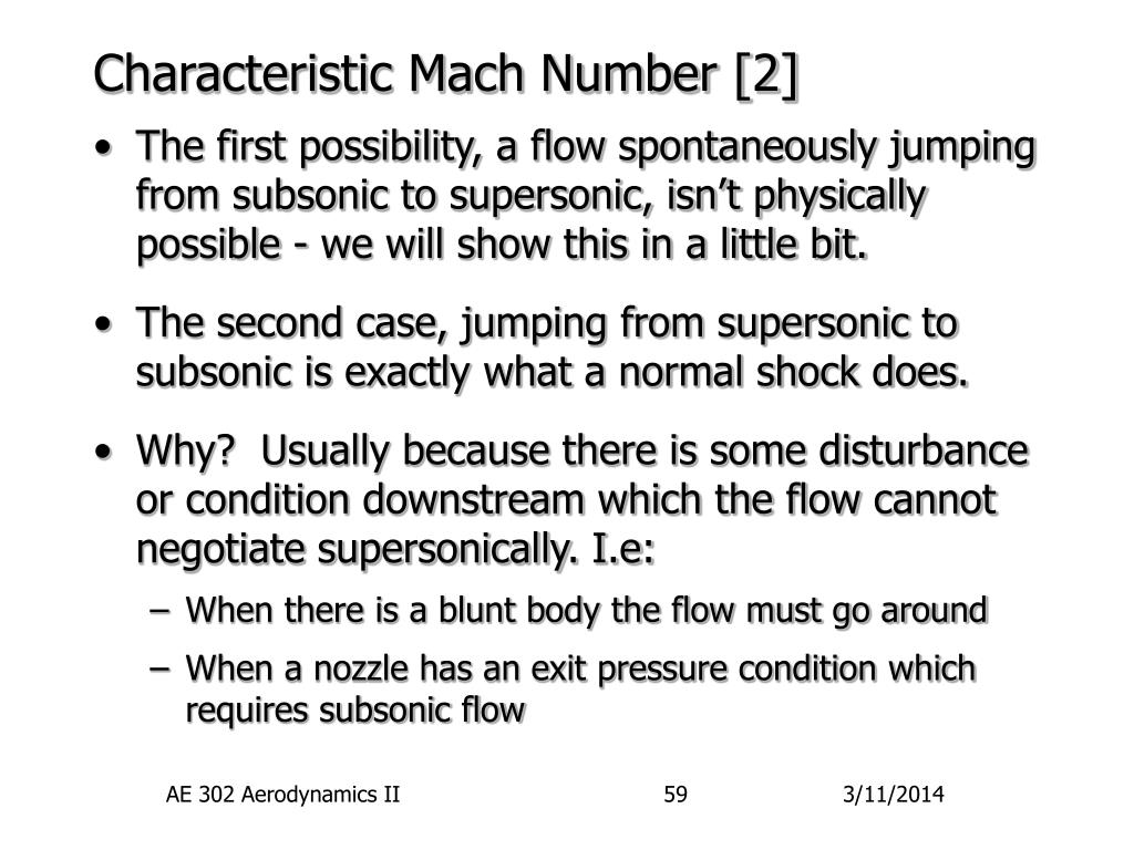 Characteristic Mach Number [2]